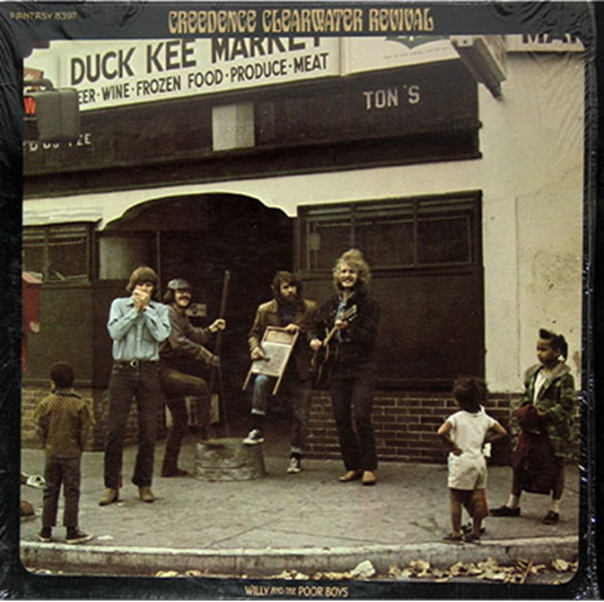 Willy And The Poor Boys by Creedence Clearwater Revival on ...