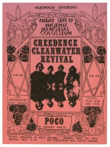 Creedence Clearwater Revival & Poco Concert Poster
