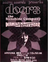 Doors Concert Poster