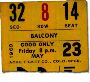 Iron Butterfly, Blues Image & Alice Cooper Concert ticket Stub