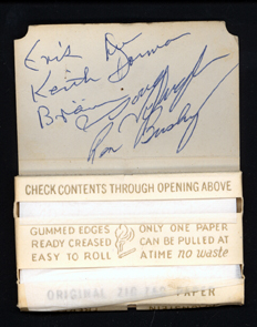 Iron Butterfly Autographs