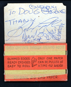 Quicksilver Messenger Service Autographs